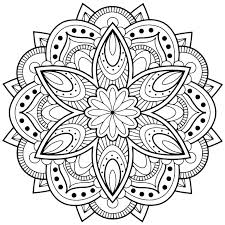 Print Mandala Coloring Pages Fresh Free Printable Mandala Coloring