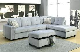 grey velvet sectional. Blue Grey Sectional Velvet Sofas Love Intended For Sofa I