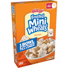 frosted mini wheats original cereal