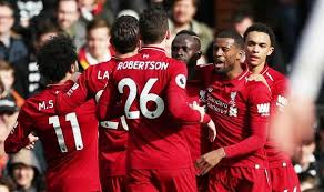 They could have scored many more in the first half, and then they defended. Fulham 1 2 Liverpool James Milner Penalty Winner Reds Go Top Of The Premier League Football Sport Express Co Uk