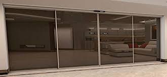 slimmest automatic sliding doors