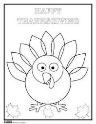 Thanksgiving Coloring Page November Classroom Ideas