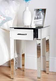 mirrored bedside table. mirrored bedside table r