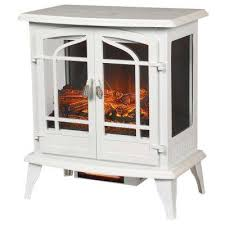 panoramic infrared electric stove in white