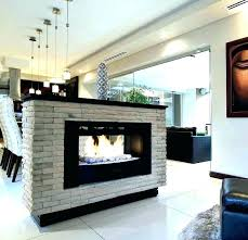 3 sided fireplace 3 sided gas fireplace two sided fireplace two sided gas fireplace logs home