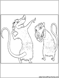 Small Picture Coloring Pages Printable Ice Age Coloring Pages Printable For Ice