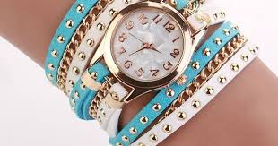 Hot Sale Summer <b>Style</b> Contrast Color Luxury Casual Watch ...