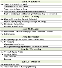 Seoul South Korea 6 Day Itinerary Ash Day Will Travel