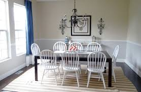 pottery barn henley rug in dining rooms