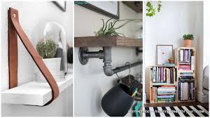 17 diy unique bookshelves for your study