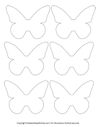 Printable Butterfly Outline Butterfly Template The Best Ideas For Kids