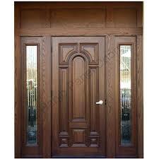 Ash Wood Door With Frame Hpd416 Solid Wood Doors Al Habib