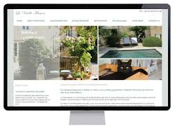 apartment website design. Provence Holiday Apartment Website Design