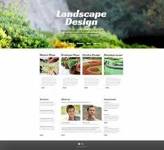Landscape Website Designers Template 46728 Ensegna Themes