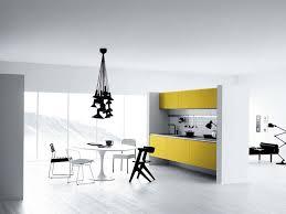 Yellow And Black Kitchen Decor Kitchen Incredible Modern White Kitchen Decor With Yellow