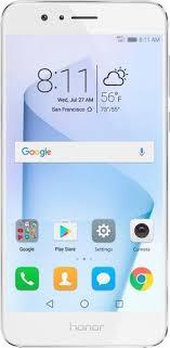 huawei refurbished. huawei - refurbished honor 8 4g lte with 32gb memory cell phone (unlocked) pearl white