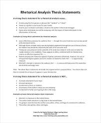 Thesis Statement Essay Example Thesis Statement Templates 11 Free Ms Word Excel Pdf