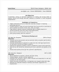 Bartending Resume Templates Enchanting BartenderResumeTemplatejpg 28×28 Resume Pinterest