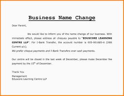 6 Change Of Name Letter Format Farmer Resume