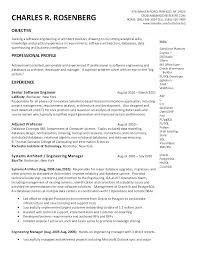 Data Warehouse Architect Sample Resume