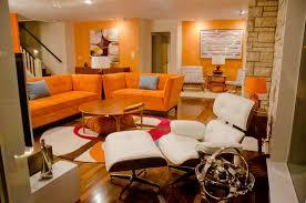 Orange Couch Living Room Orange Sofa Design Ideas Inregan Home Decoration