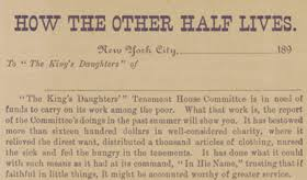 riis how the other half lives essay