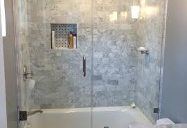 large size of tub shower combo with glass enclosure units for small rv corner bathrooms ideas
