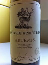 artemis wine. artemis is named after the greek godess of hunt. wine was aged for 18 months in french oak barrels which 48% were new.