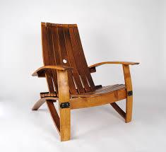 furniture made from wine barrels. Custom Made White Wine Barrel Chair Furniture From Barrels A