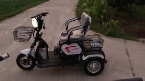 Tư vấn] Chọn xe điện 3 bánh cho người già & Người khuyết tật