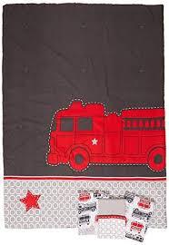 4 piece toddler bed set fire truck