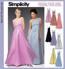 Simplicity Wedding Dress Patterns Amazing Simplicity Dress Patterns Patterns › Simplicity › 48 Formal