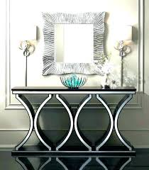 mirror and table for foyer. mirrored entry table foyer and mirror set entryway furniture storage for .