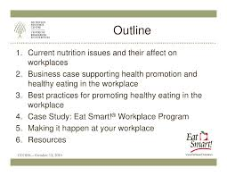essay on health promotion hnn mental health promotion thinkswap implementing healthy eating programs in the workplace
