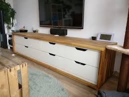 Long TV stand from IKEA Stolmen