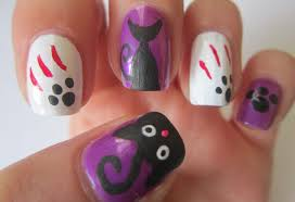 Halloween ~ Fallen Nail Art Designs Cute Gallery Design Ideas Easy ...