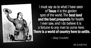 Davy Crockett Quotes Unique TOP 48 QUOTES BY DAVY CROCKETT AZ Quotes
