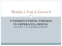chapter ldquo las cebollas onions rdquo ppt video online module 1 unit 2 lesson 8 understanding themes in esperanza rising