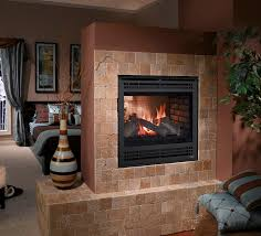 heatilator see through gas fireplace
