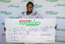 Safaricom - Hare Kochokocho Hapakenya Ksh The Kombe Among 1 Winners Shukrani In Million Promotion Glenda