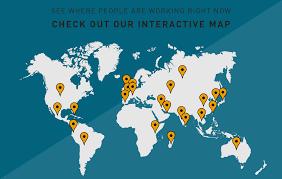international co op co operative education simon fraser university interactive map googlemaps