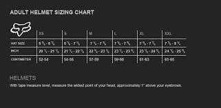 43 You Will Love Fox Rampage Helmet Size Chart