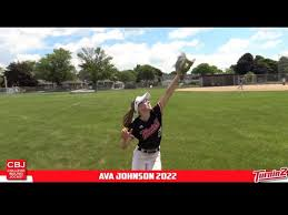 Ava Johnson 2022 2nd Base/Outfield - YouTube