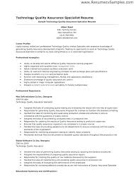 qa resume sample - Corol.lyfeline.co
