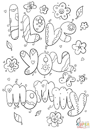 I Love U Coloring Pages Funycoloring L