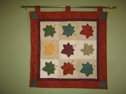 Look What I Made: Fall quilted wall hanging & Fall quilted wall hanging Adamdwight.com