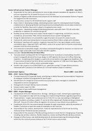 Assistant Project Manager Fresh It Project Manager Resume Fresh