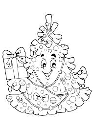 Kleurplaten Kerstboom