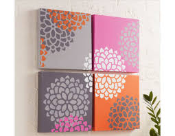 canvas wall art on diy stencil canvas wall art with top 10 easy awesome things to stencil nomadic decorator