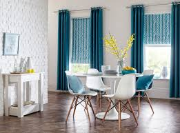 Turquoise Curtains For Living Room Blue And White Living Room Sherwood Curtains In Teal With Nirvana